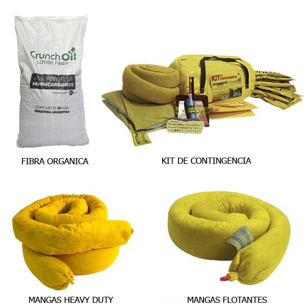 absorbentes hidrocarburos