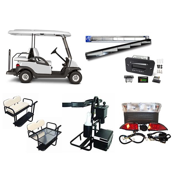 accesorios carros de golf