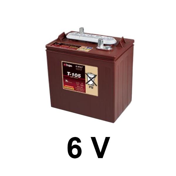 bateria 6v t-105