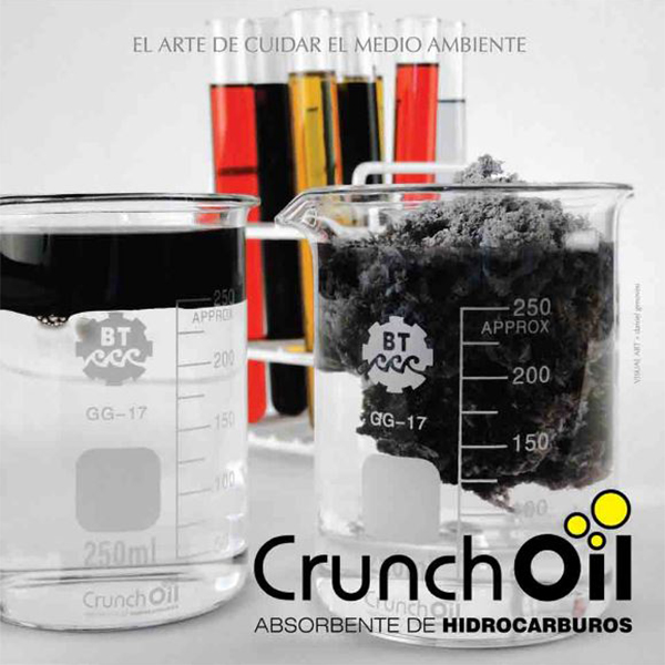 crunch oil obsorbente